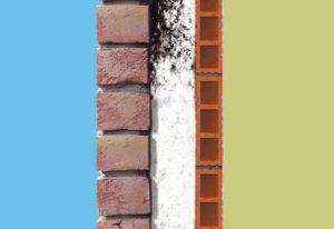 Insufflaggio intercapedini pareti muri
