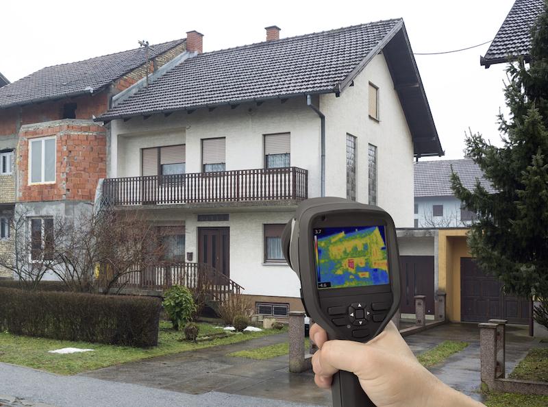 rilevazione termica immobile insufflaggio